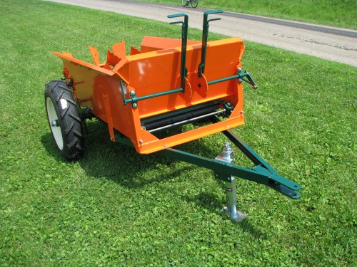 Compact manure spreaders cottage craft works